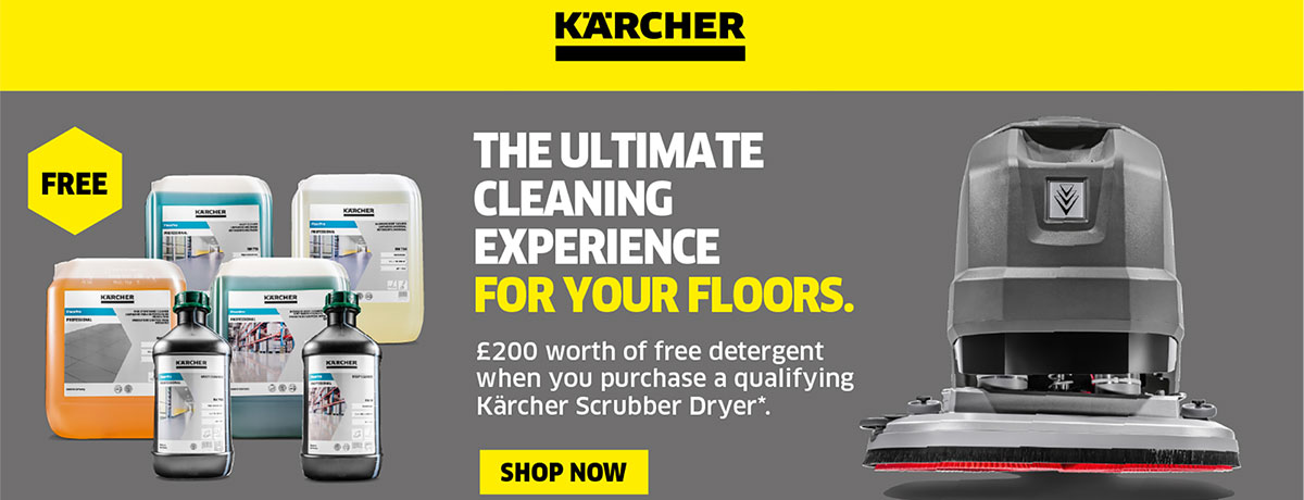Karcher Professional cleaning products offer - Dispo Products